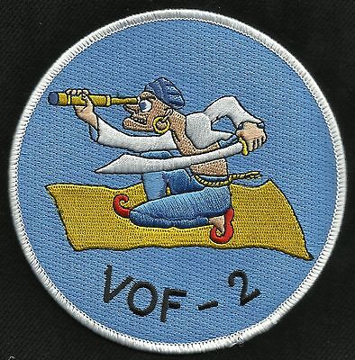 US Navy - VOF 2 Fighter Observation Squadron Two Military Patch WWII