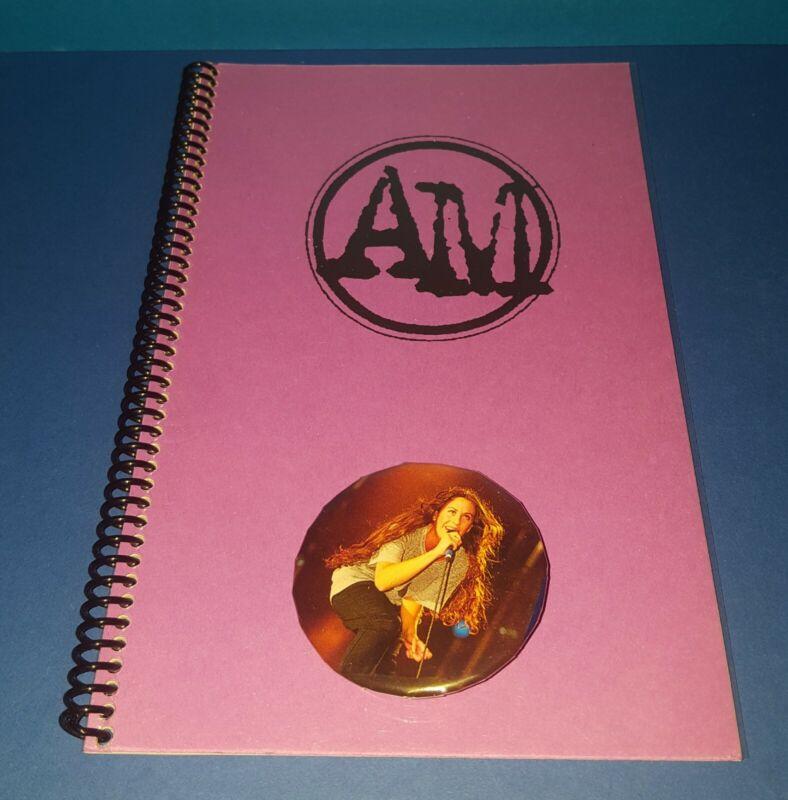 "ALANIS MORISSETTE (6-7) 1996 SUMMER TOUR ITINERARY EUROPE  "" JAGGED LITTLE PILL"""