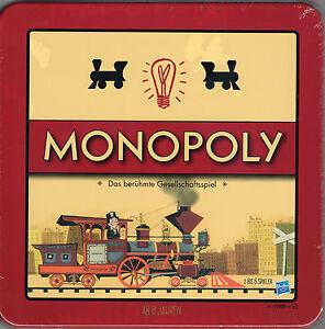 Monopoly Nostalgie - limit. Retro-Ausgabe in Blechdose/Blechbox - Brettspiel NEU