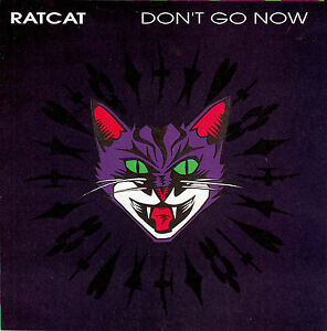 RATCAT-Dont-Go-Now-The-Lie-7-45-rpm-vinyl-record-juke-box-title-strip