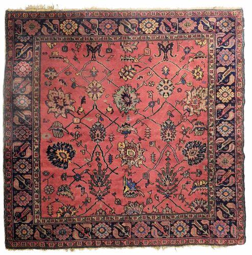 Antique Turkish carpet. 5