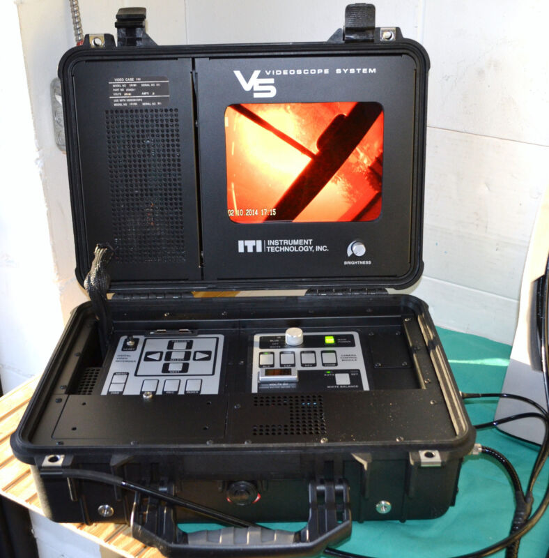 ITI V5 Instrument Technology Fiberscope VideoScope Borescope with 9 feet Probe
