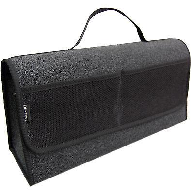 Kofferraumtasche Auto Tasche Zubehörtasche in SCHWARZ passend für