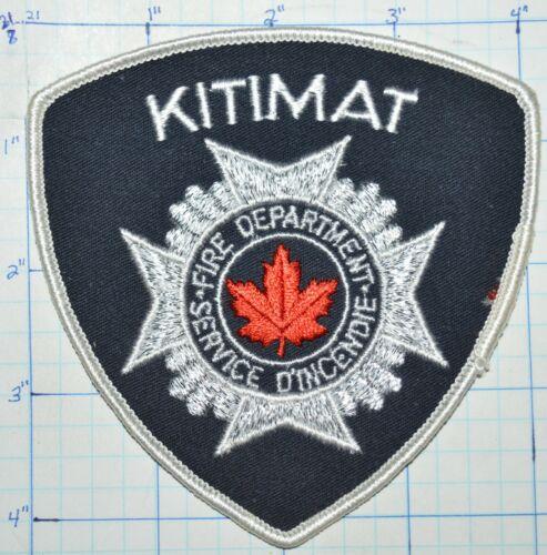 CANADA, KITIMAT FIRE DEPT SERVICE D