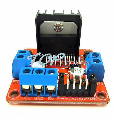 Stepper Motor Drive Controller Board Module L298N Dual H Bridge DC M12 segunda mano  Embacar hacia Argentina