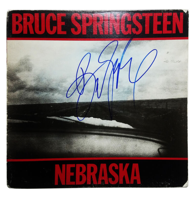 Bruce Springsteen Autographed Signed Record Album LP