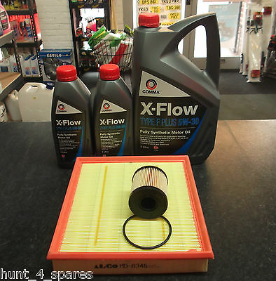 FORD TRANSIT 2.2 2.4 SERVICE KIT OIL AIR FILTERS 7 LITRES OIL COMMA - XFLOW