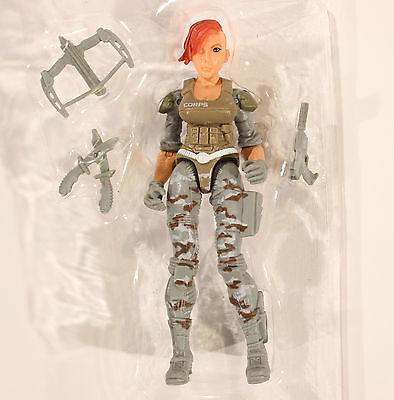 Lanard The Corps Elite Female Action Figure Snake Bite 1 18 3 75 Gi Joe Force