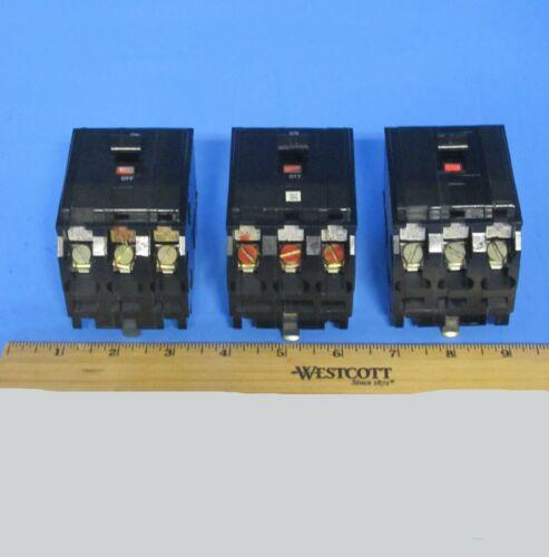 Square D QO320 Circuit Breaker 20 Amp 3 Pole 240 Volt W/Lugs Plug In