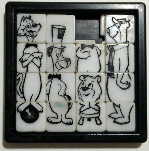 Original 1960 Yogi Bear & Huckleberry Hound Hanna-Barbara Roalex Slide Puzzle