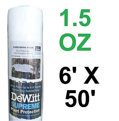 DeWitt Supreme 650 6' X 50' 1.5 ...