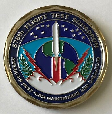USAF US Air Force Top Hand 576th Flight Test Sq America's Only ICBM Test Sq for sale  Washington Crossing