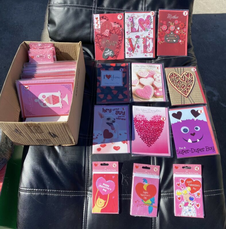 Valentines Day Card (Pack Of 30)