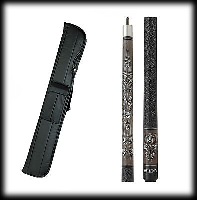 New Athena ATH37 Pool Cue Enmired - Tribal Design Circumvent & Angry   17-21 oz & Occasion