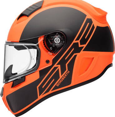 Schuberth Helm SR2 Wildcard Orange Sonderaktion Gr. M