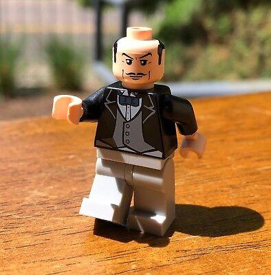 LEGO BATMAN ALFRED PENNYWORTH THE BUTLET GENUINE MINIFIG ONLY SET 7783 BATCAVE