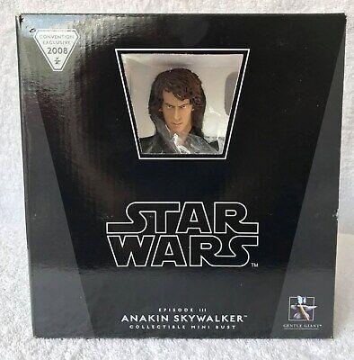 Star Wars Anakin Skywalker Bust 2008 Convention Exclusive Gentle Giant