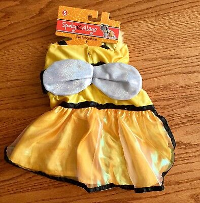 🐝 BEE 🐝 Pet Costume. NWT. Size SMALL for Dog or Cat.