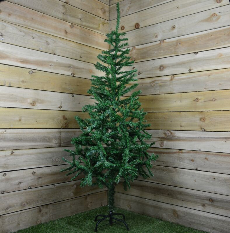 6ft+%28180cm%29+Plain+Green+Pine+Christmas+Tree+with+480+tips