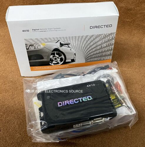 NEW Directed Electronics 4x10 Digital Remote Start System w/ 3xLS (3 Times Lock)