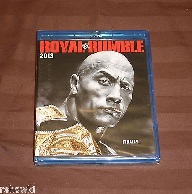 WWE: Royal Rumble 2013 (Blu-ray Disc, 2013) BRAND NEW
