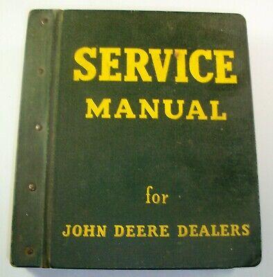 John Deere Service Manual Dealers Hercules Qxd-3 Model 40 Model M Model Mt