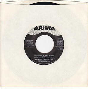 Whitney-Houston-My-Name-Is-Not-Susan-U-K-Remix-7-Vinyl-45-RPM-Record