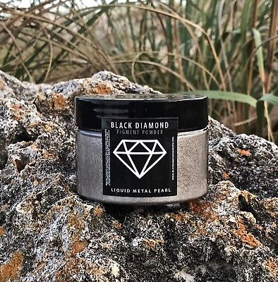 BLACK DIAMOND 42g/1.5oz Mica Powder Pigment - Liquid Metal Pearl