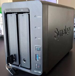 Synology DS716+ NAS & 2TB Samsung 850 EVO SSD