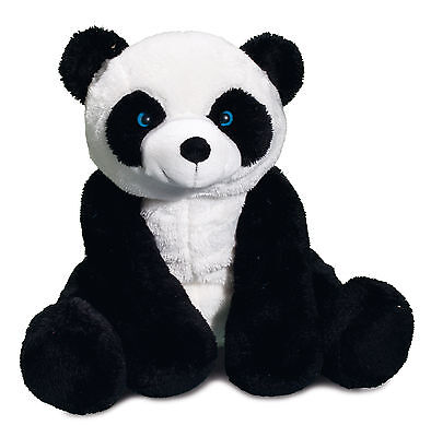 Stofftier Plüschtier Kuscheltier Panda 30 cm sitzend groß