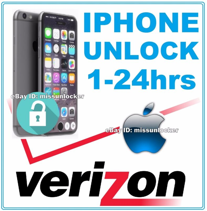 VERIZON Unlock Code Service iPhone 5 5C 5S 6 6+ 6S  FAST! FAST!  100% GUARANTEED