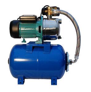 IBO BOOSTER PUMP 1.1kW 60l/min. water pressure/diaphragm VESSEL/TANK 24l