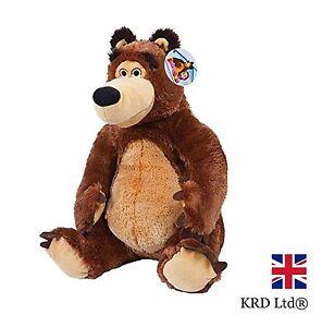 Bear plush toy masha and the bear movie characters kids for Masha giocattolo