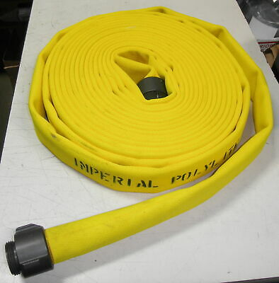 70d8 Imperial Polylite Fire Hose 1-12 X 50 400psi Nfpa 1962 Double Jacket ...