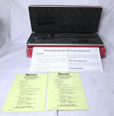 Starrett No. 722 Electronic Caliper 722z-6150mm