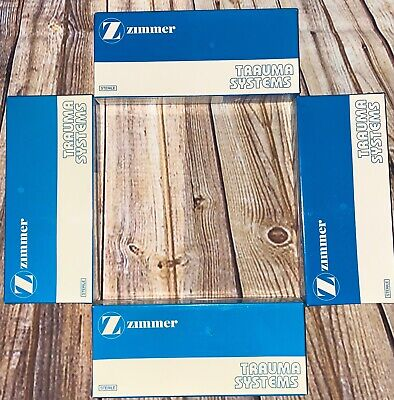 New Old Stock Zimmer 1181-135-05 Compression Tubeplate 5 Holes 135 Degree 107mm