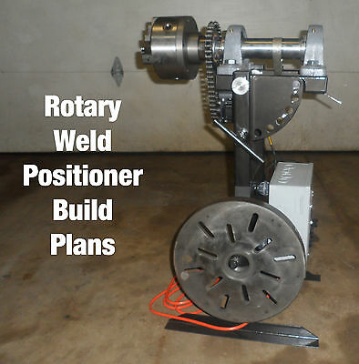 Rotary Weld Positioner Build Plans Pdf Format Arduino Controled Stepper Driven