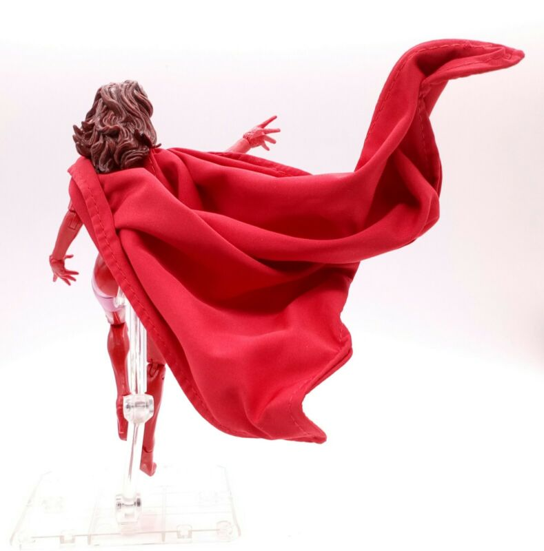 PB-SRW-C Wired red cape for Marvel Legends 3-pack Scarlet Witch No Figure
