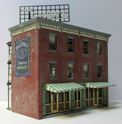 THE GROVE TT Scale Model Railroad Structure Wood Laser Kit RSL6059