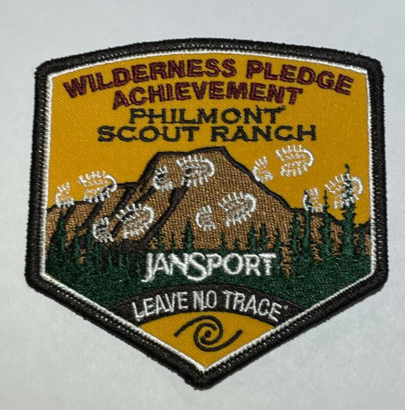 Philmont Scout Ranch Leave No Trace Patch Boy Scout TK5