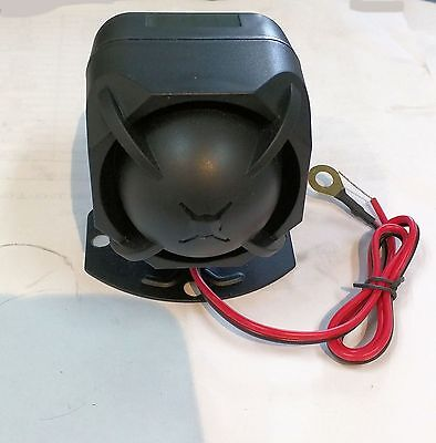 Alarm Siren with 6 Tones with Built In 9V Back Up Battery Built In Battery Backup