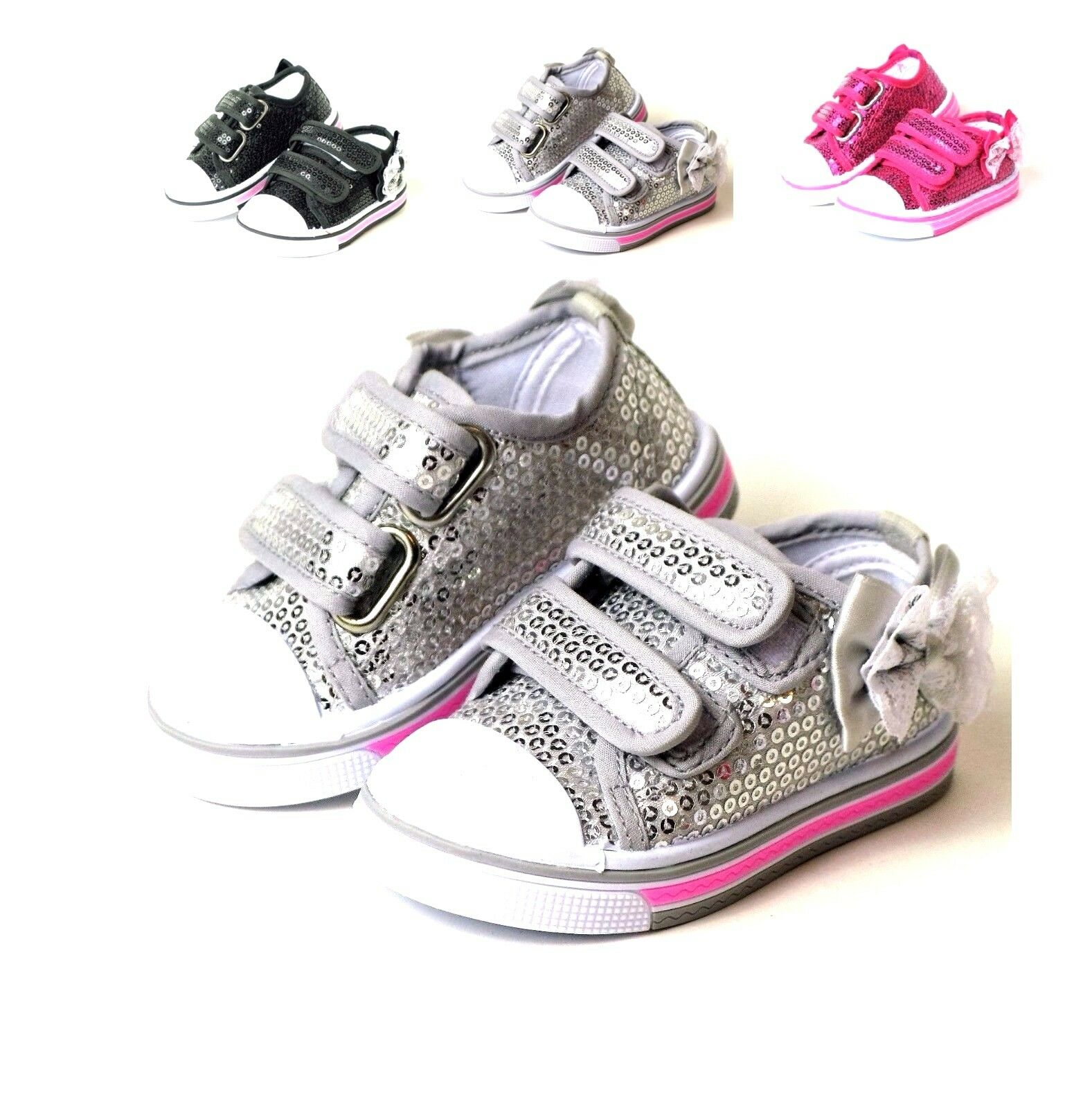 New Infant And Baby Toddler Girls Slip On Dress Shoes 3 ...