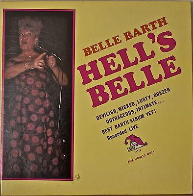 "BELLE BARTH: Hell's Belle-NM196?LP ""Risque"" Comedy ala Rusty Warren/Redd Foxx"