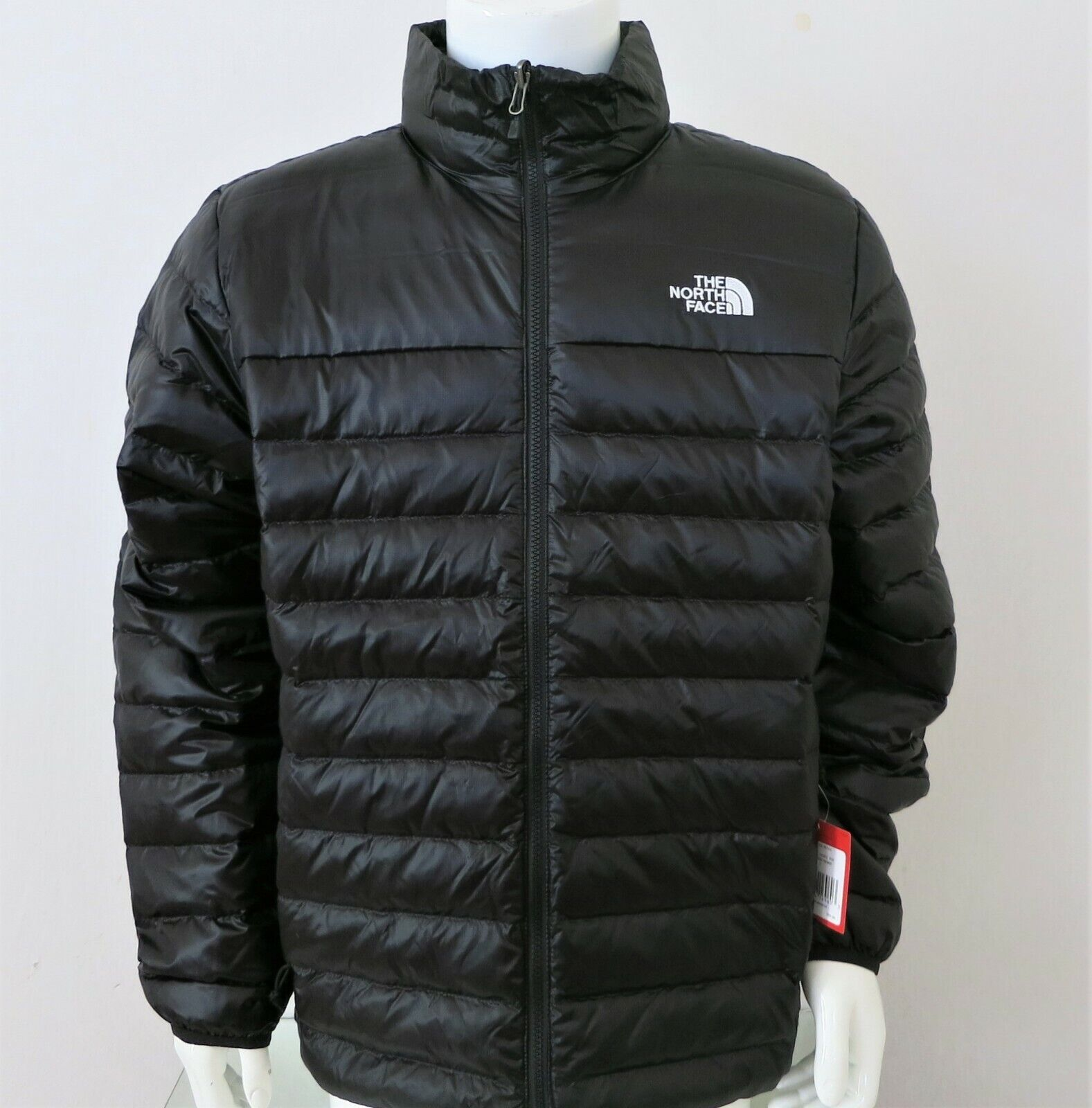 THE NORTH FACE Men's Flare 550 Down Insulated Puffer Jacket Black White sz S XXL