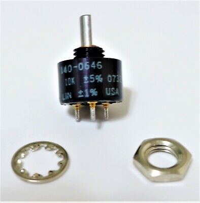 New Vishay Spectrol Potentiometer 140-0646 10 K.