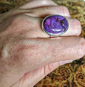 Purple Mojave Turquoise, size 7.5 US, 925 Silver, New, Genuine South Brisbane Brisbane South West Preview