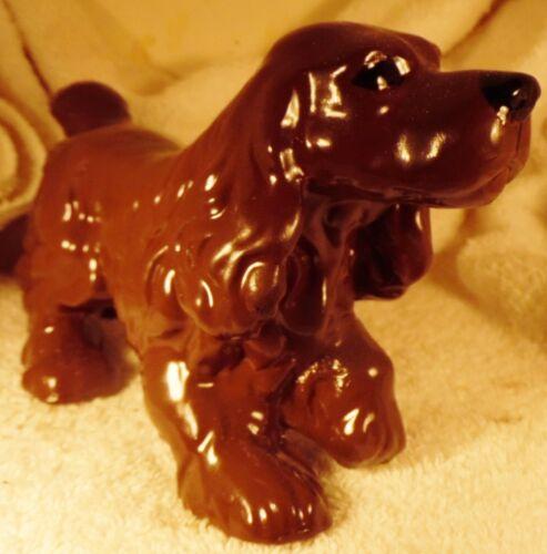 Dog Figurine SUSSEX SPANIEL Porcelain Standing 1940