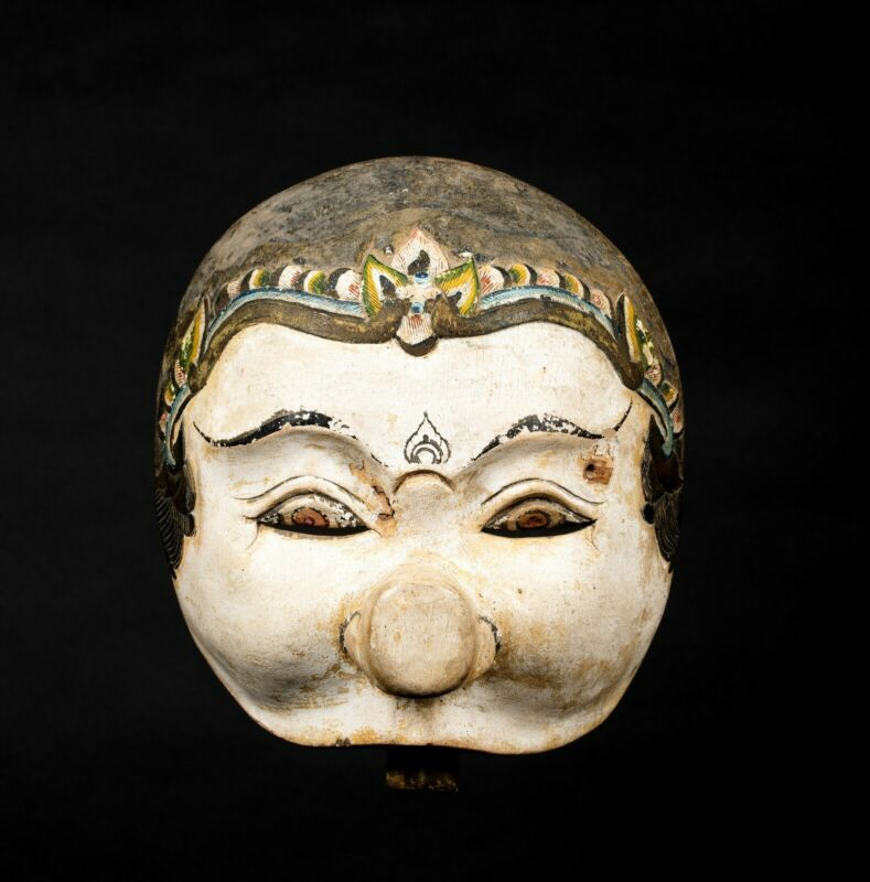 A Fine Antique BALI Topeng Bondres Mask