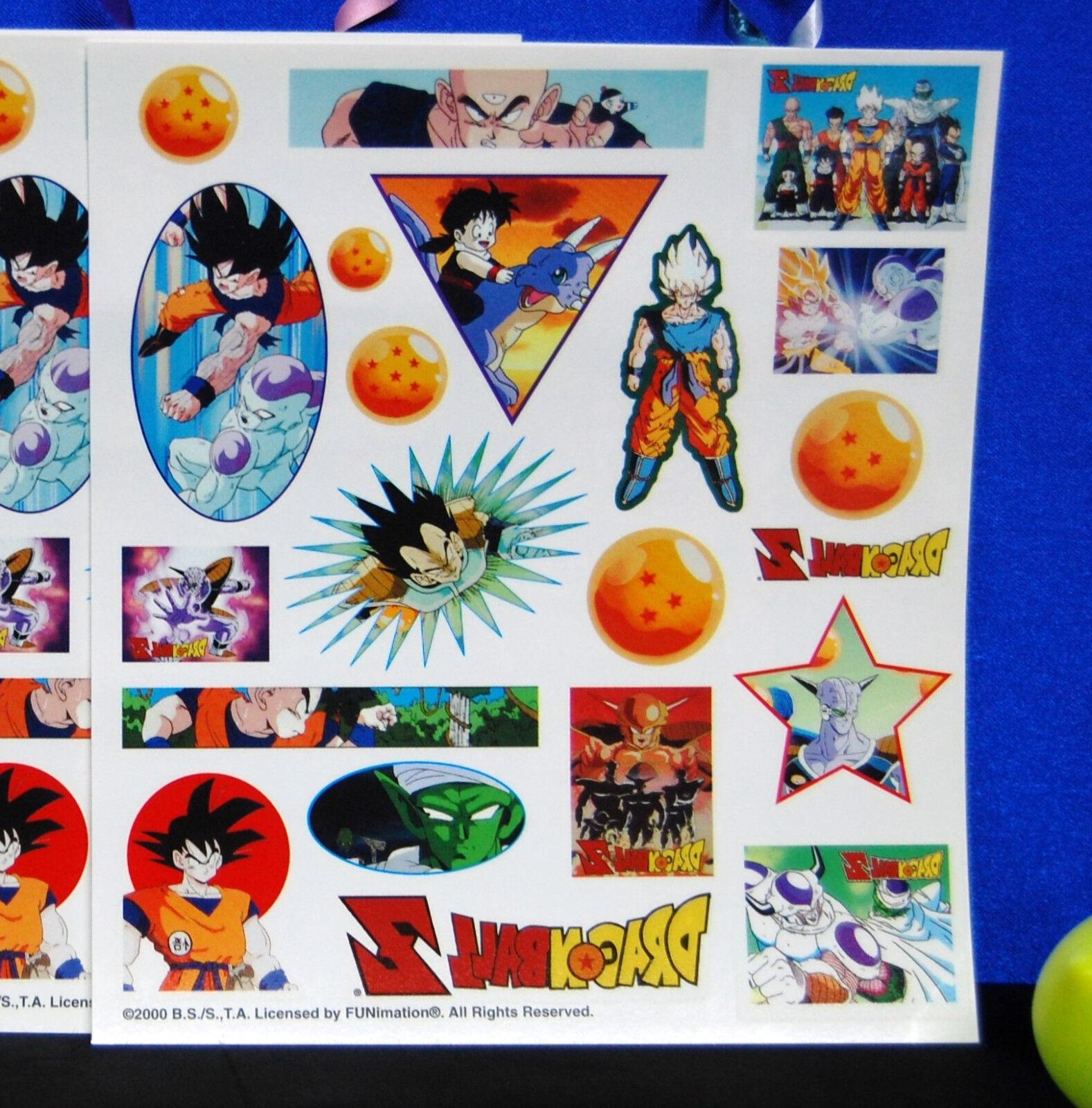 DragonBall Z Party Loot Bags  Dragon Ball Z  Loot Bags 2-8 CT Sets