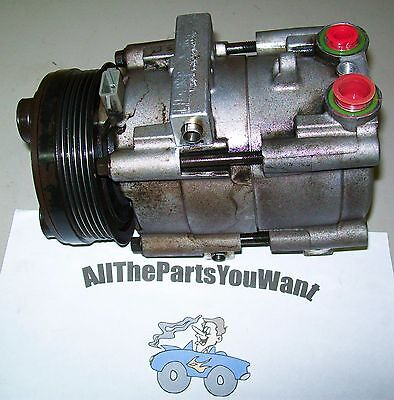 96 06 FORD MUSTANG 8CYL AC COMPRESSOR 94 02 CROWN VICTORIA TOWN CAR AC ALL OEM